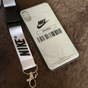 Nike cellphone case for iPhone XS Max